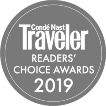 Conde Nast Traveller - Readers' Choice Awards 2019