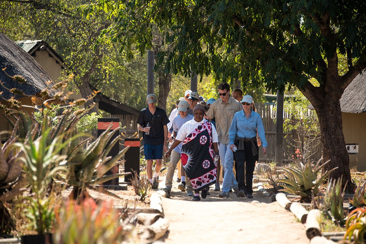 The Londolozi Village Walk