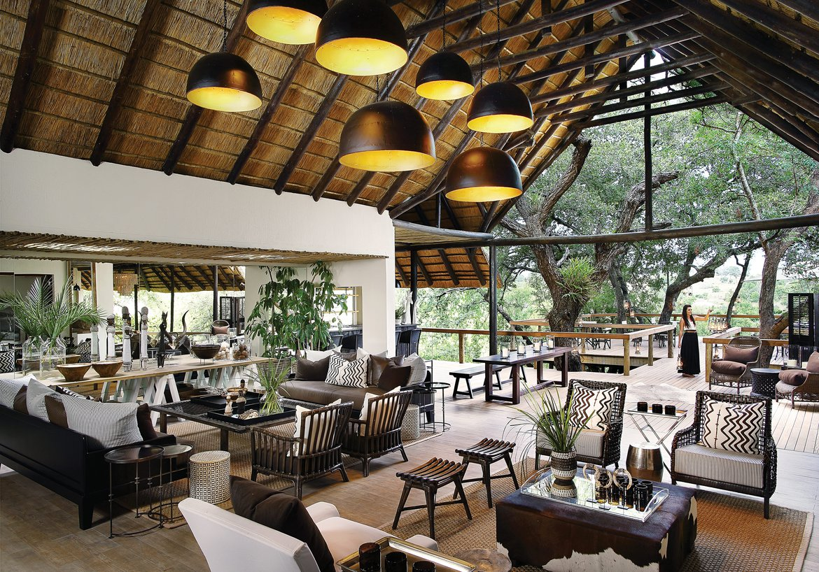 The Londolozi Tree Camp Main Area And Deck