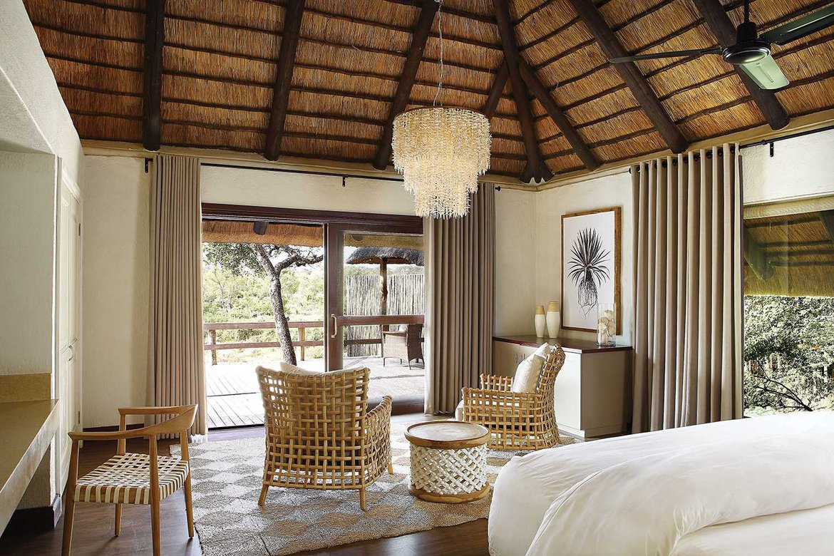 A Founders Camp room at Londolozi