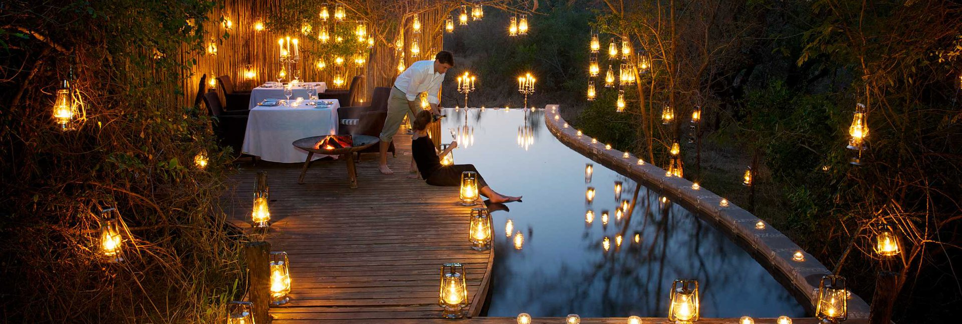 Pioneer camp luxury private suites londolozi game reserve for Academie de cuisine summer camp