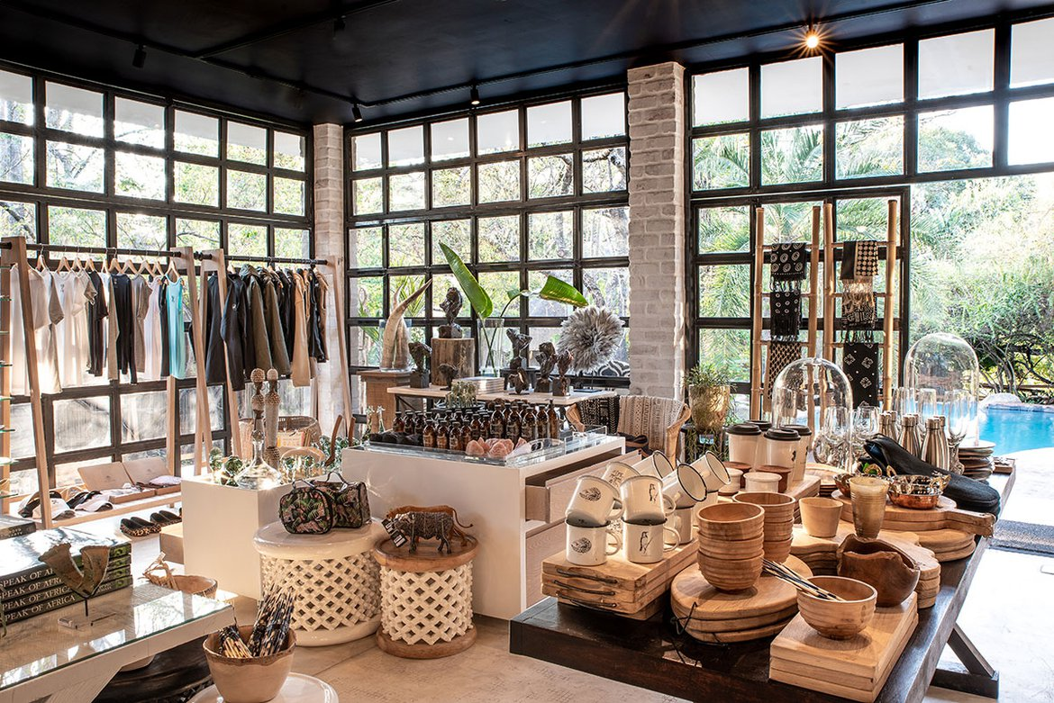 The Londolozi shop, safari boutique