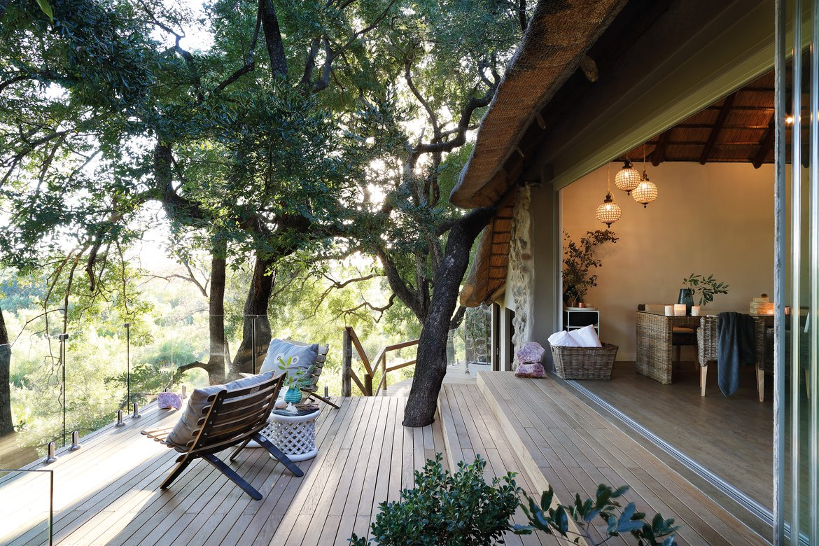 The Healing House (wellness centre spa) at Londolozi